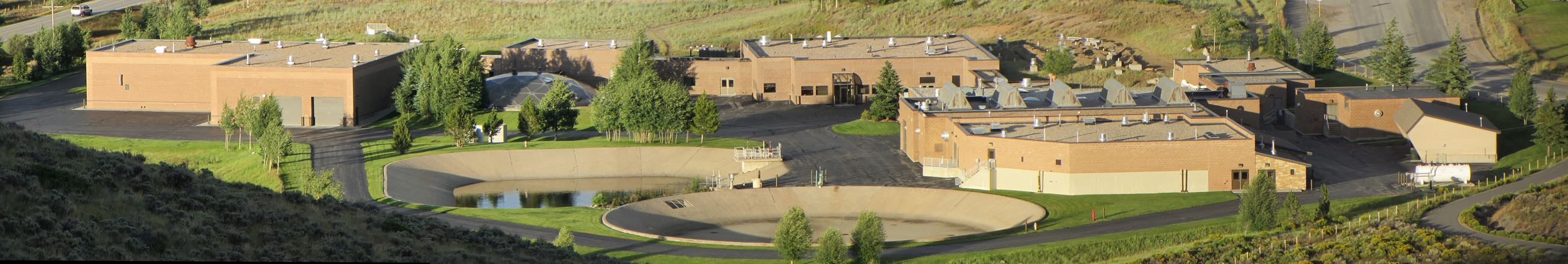 View of Snake River Waste Water Treatment Plant