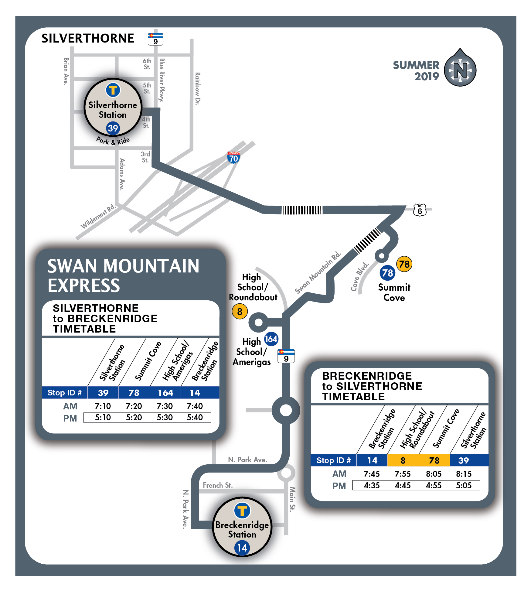 Summer Bus Schedule | Summit County, CO - Official Website