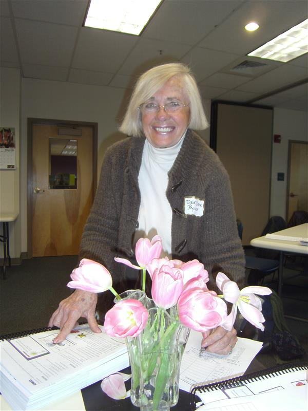 Summit County Master Gardener in class