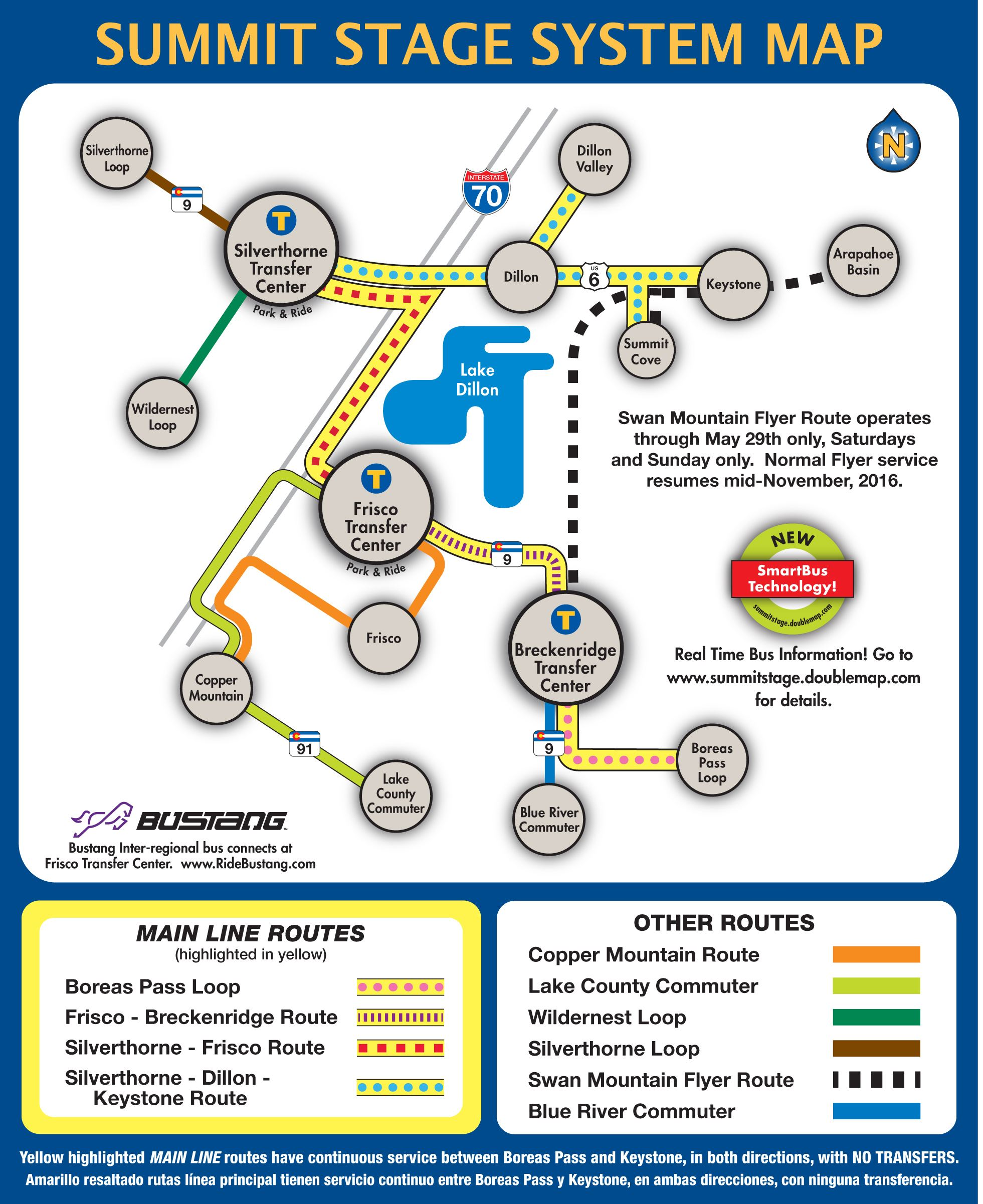 Summer Bus Schedule Summit County Co Official Website
