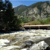 Photo of a river with heavy whitewater.