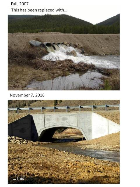 Before - After - Culvert