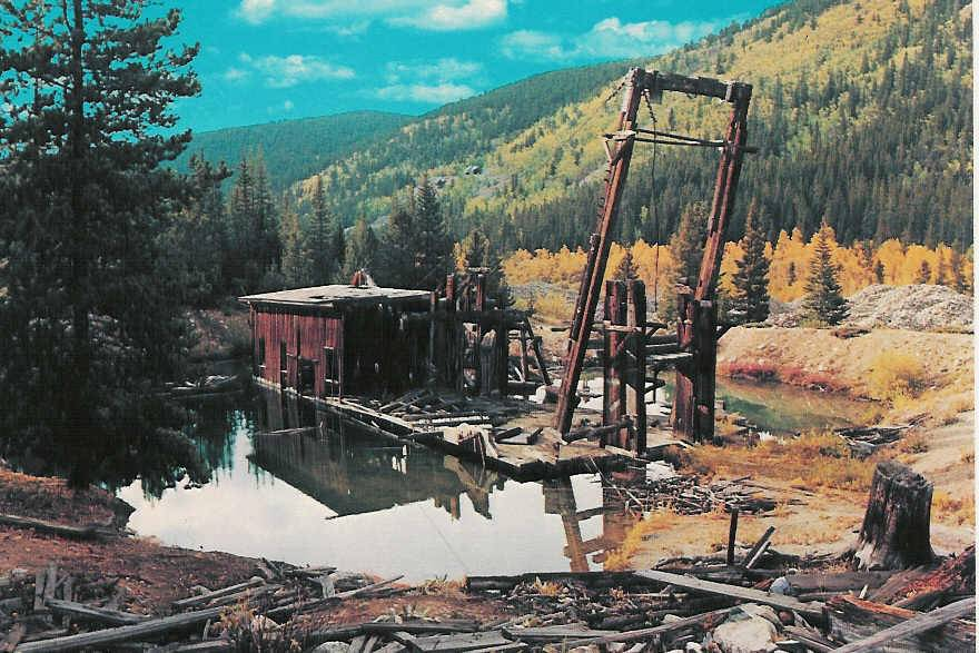 Reiling dredge remains 1980s