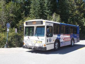 Summit Stage Buffalo Trailhead Bus Loop