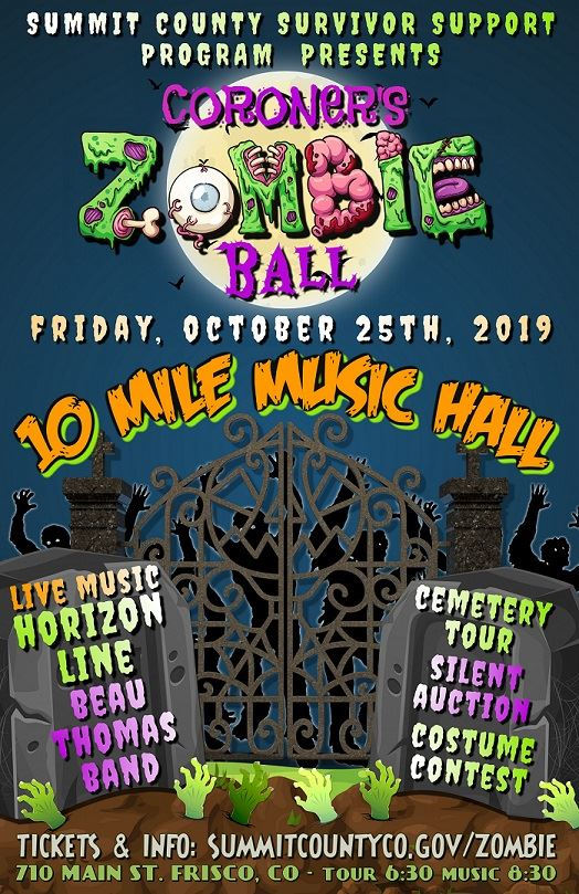 Poster for the Zombie Ball
