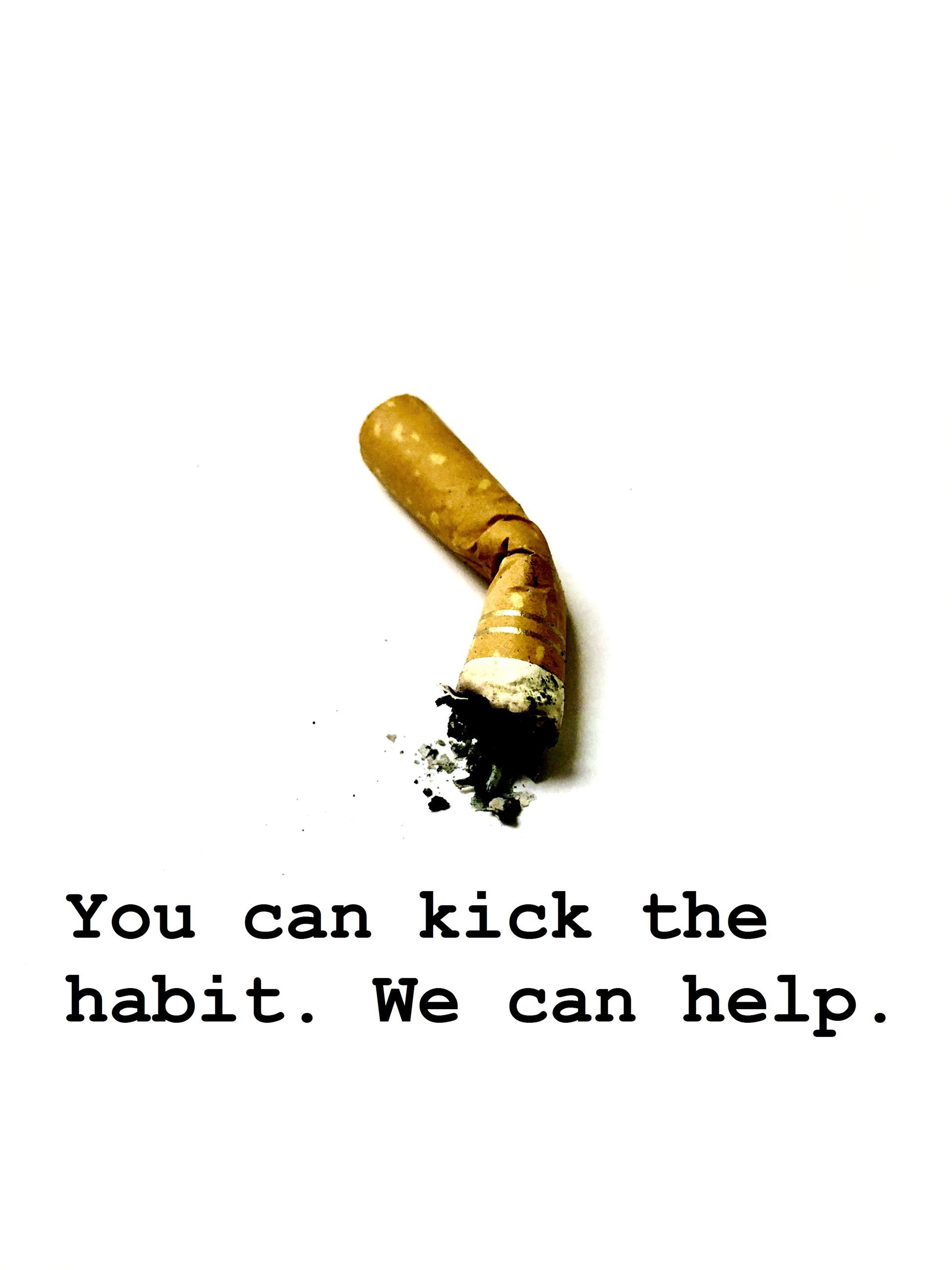 You can kick the habit. We can help.