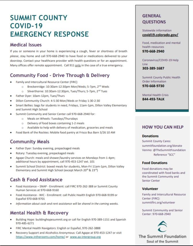 emergency resources page 1