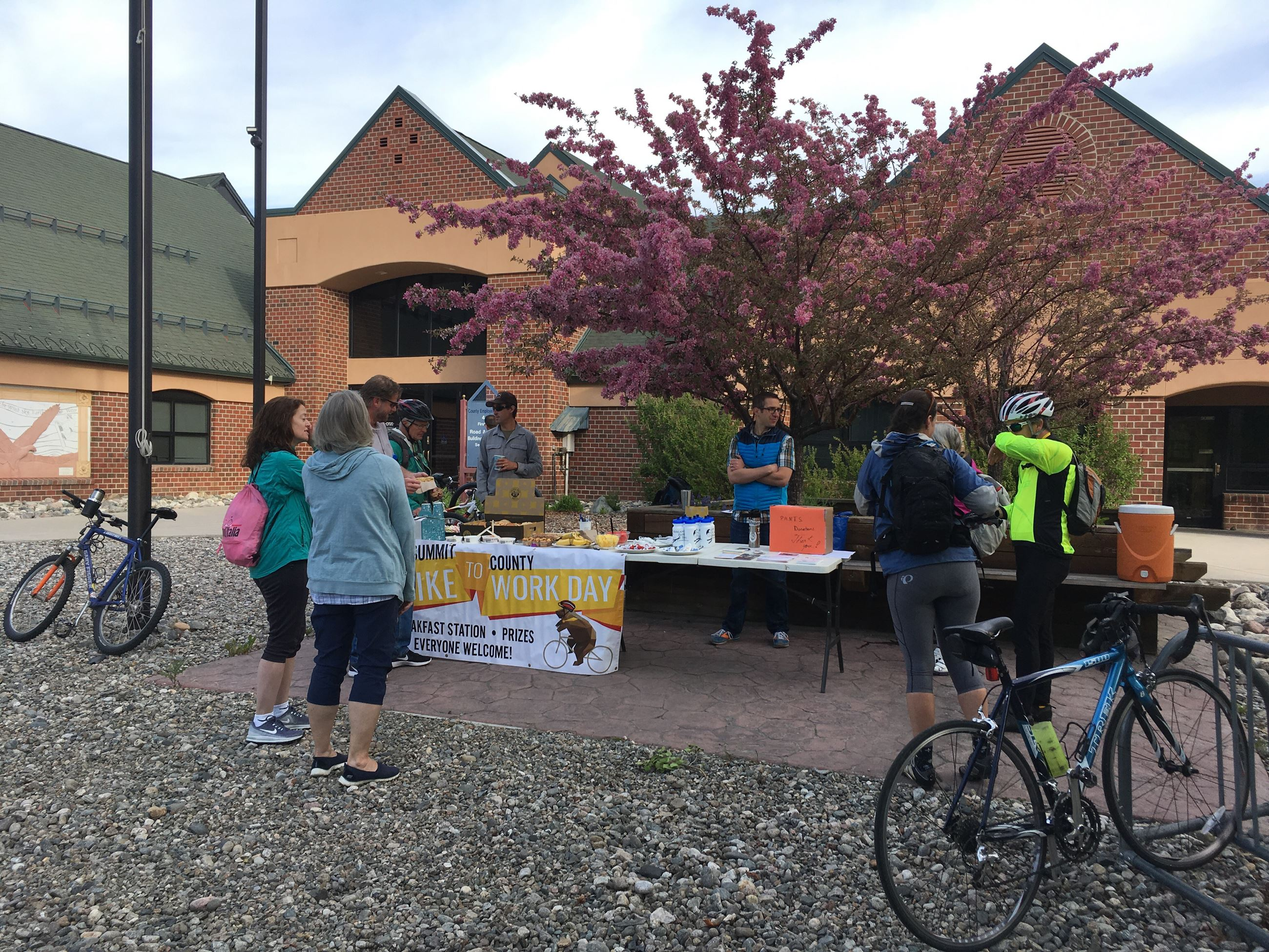 Bike to Work Day Aid Station