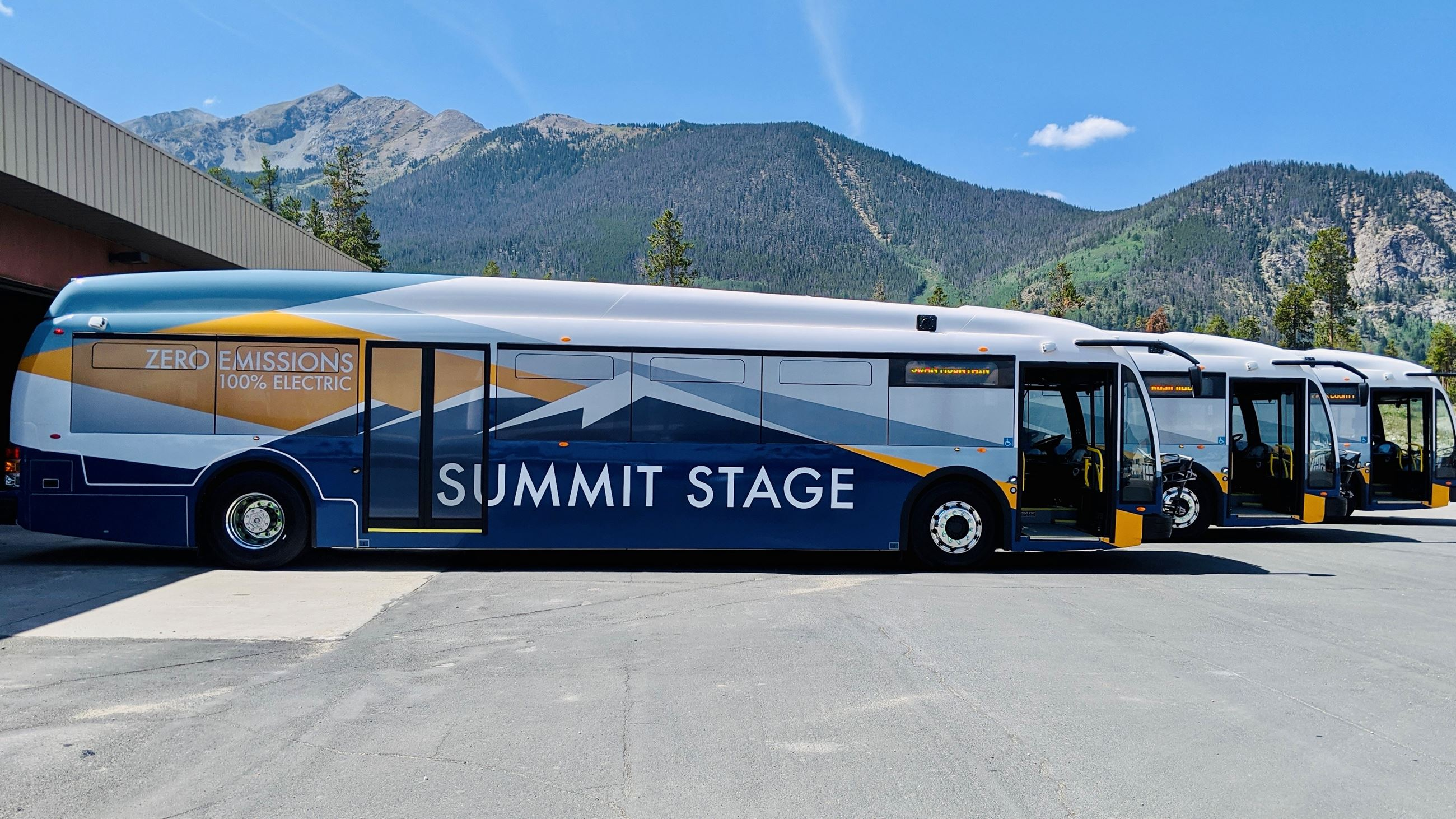 Summit Stage eBuses