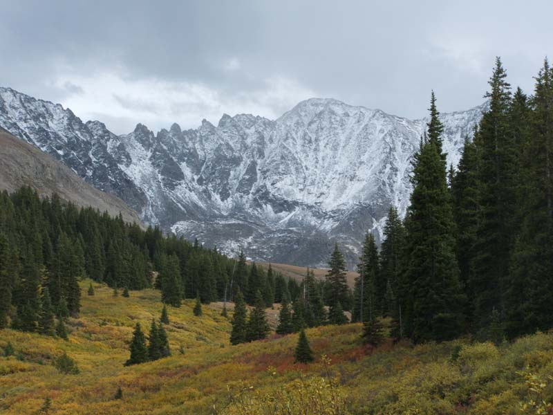 Early Snow in Mayflower Gulch