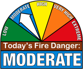 Fire Danger = Moderate